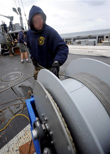 Sonar Technician stationed with Mobile Diving and Salvage Unit (MDSU)